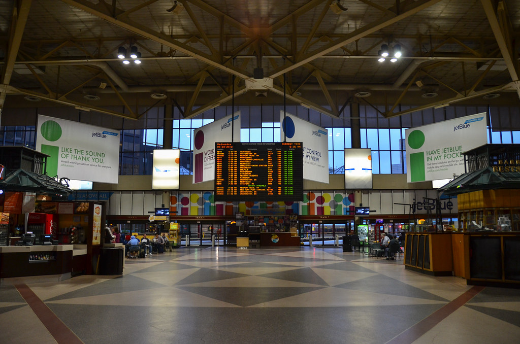 Boston >> Boston South Station | departing on the Acela | Eric Allix Rogers | Flickr