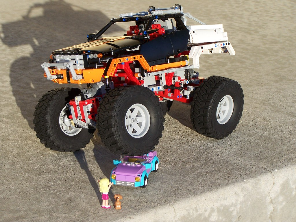 Lego 9398 Crushes Stephanie S Cool Convertible A Lego