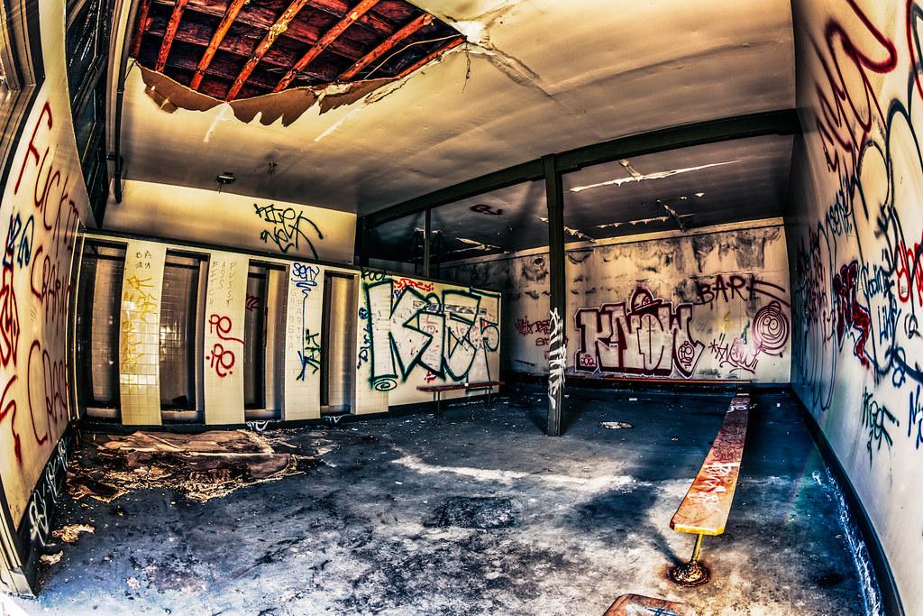 Tumblr Abandoned Locker Room