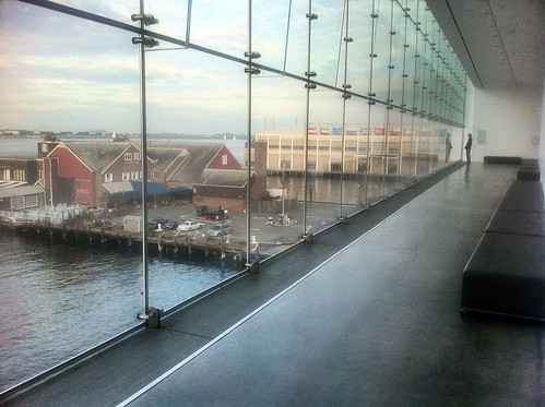 Boston - ICA - Institute of Contemporary Arts - Glass Hallway | by Polterguy30