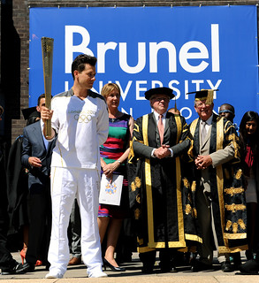 Olympic Torch Relay comes to Brunel | by Brunel University London