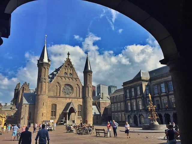 Ridderzaal en La Haya (Países Bajos)