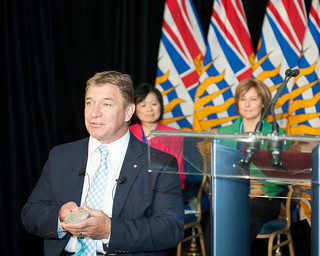 Premier and MLAs Celebrate the 25th Anniversary of Rick Hansen's Man  In Motion World Tour | by BC Gov Photos