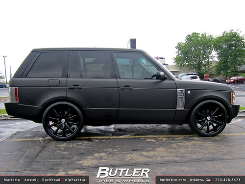 Black Range Rover Wheels Black Range Rover Hse With