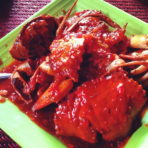 Kepiting Rebus #crap #food #ngonoogram #delicious | by jauhari