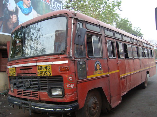 Chimur depot bus resting at Chandrapur bus stand. | by Ram CBS NGP