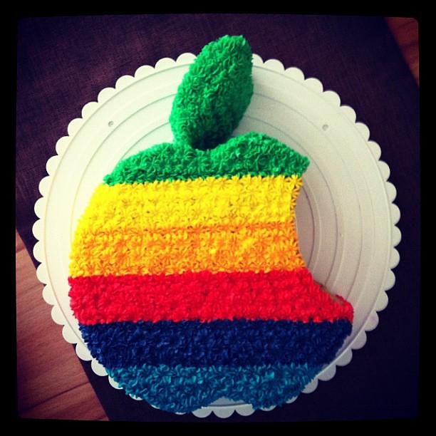 Apple Logo Cake Pan