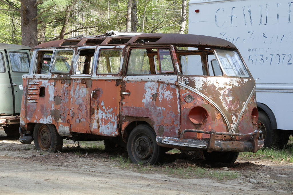 Junkyard, NH, USA | Rene Schwietzke | Flickr