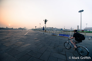 Biking Tiananmen | by Mark Griffith