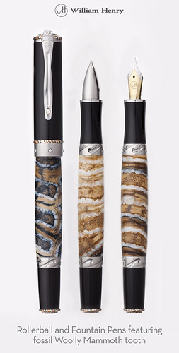 Fossil Woolly Mammoth Pens | by William Henry Studio