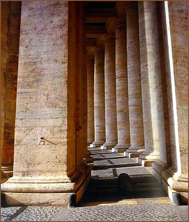 Columns in Vatican city | by jackfre 2