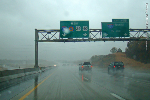 Rainy I-70 in KCK, on way to Sporting game, 2 Nov 2011 | by photography.by.ROEVER
