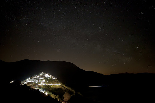 Castelluccio salutes the Milky Way | by Adrianosan Photo