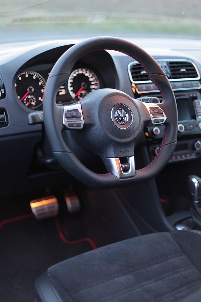 vw polo gti interieur by marco wittig