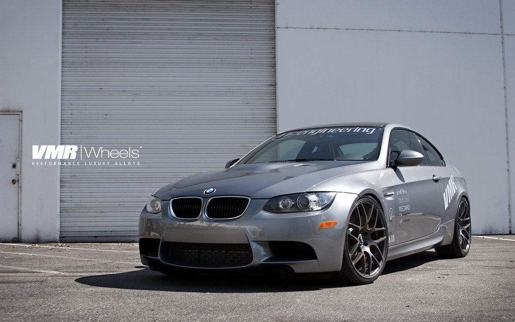 Vmr Wheels Space Gray Bmw E92 M3 Coupe Steel Gray Bmw