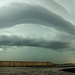Panorama of Storm Chicago 06/29/2012