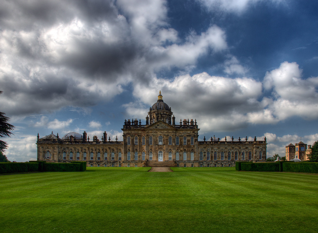 Castle Howard - North Yorkshire (HDR) | Stately home in ...