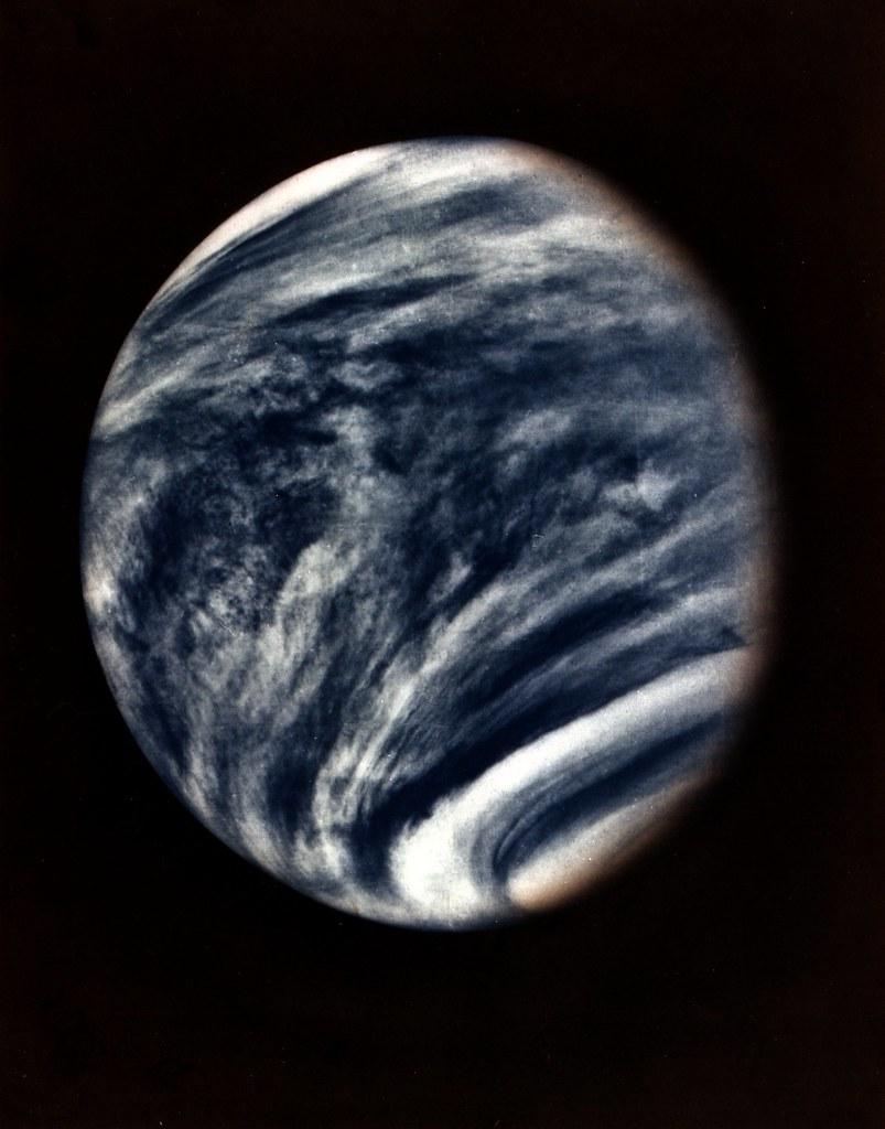 Venus | Description This picture of Venus was captured by ...