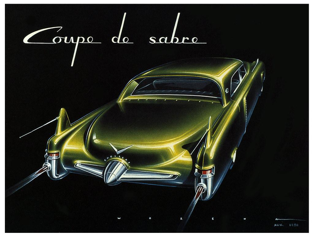 Cadillac Coupe De Sabre Frank Wozena 1950 Quot Into