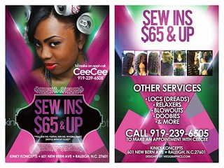 flyerfront&back | by sexceestylist