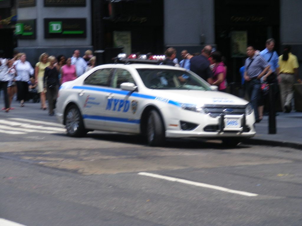 nypd ford fusion hybrid police interceptor manhattan new flickr. Black Bedroom Furniture Sets. Home Design Ideas