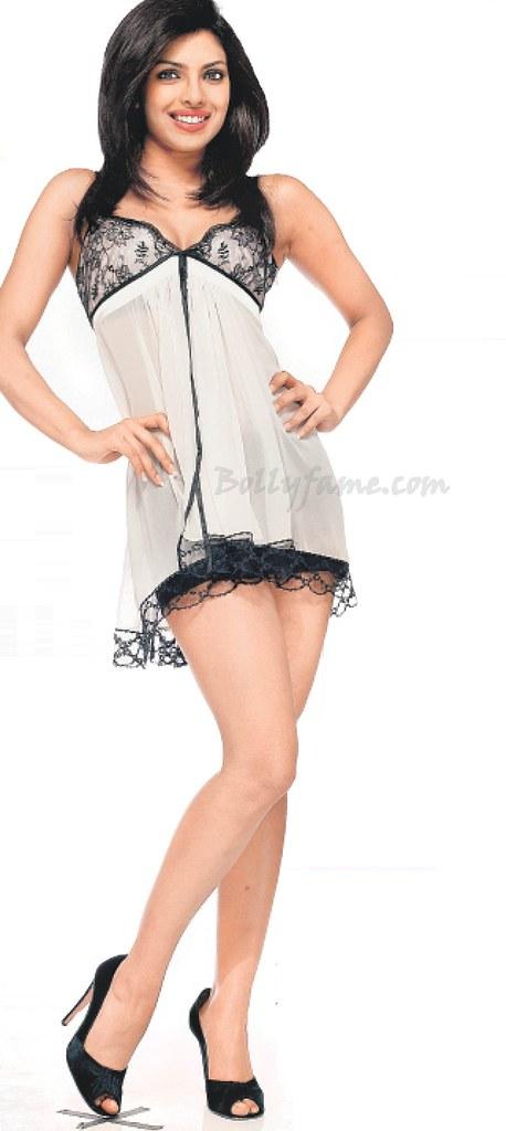 Priyanka Chopra Looks Bold n Beautiful in Hot Lingerie - w ...