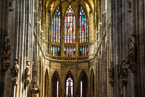 Saint Vitus' Cathedral, Prague, Czech Republic | by PiotrHalka