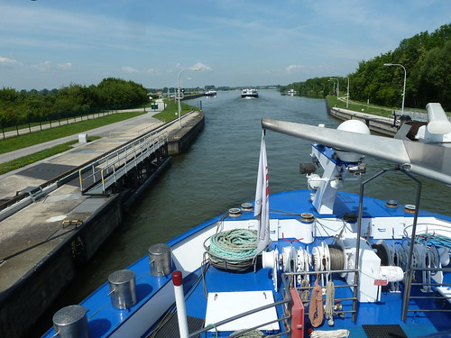 MS River Harmony Exiting a Lock on the Danube River | by Mary Warren (9.4+ million views)