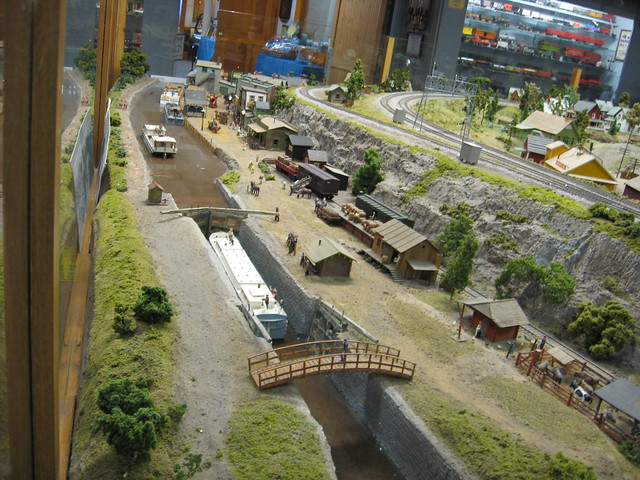 Medina Railroad Museum Ho Scale Model Train Layout Erie