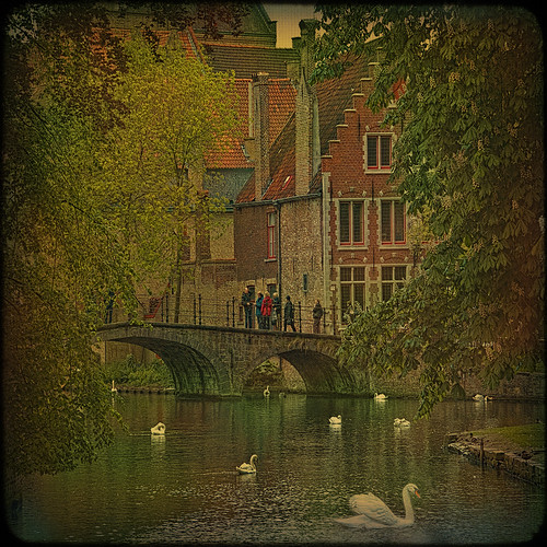 Bruges... or old legend about the Swan City. | by egold.