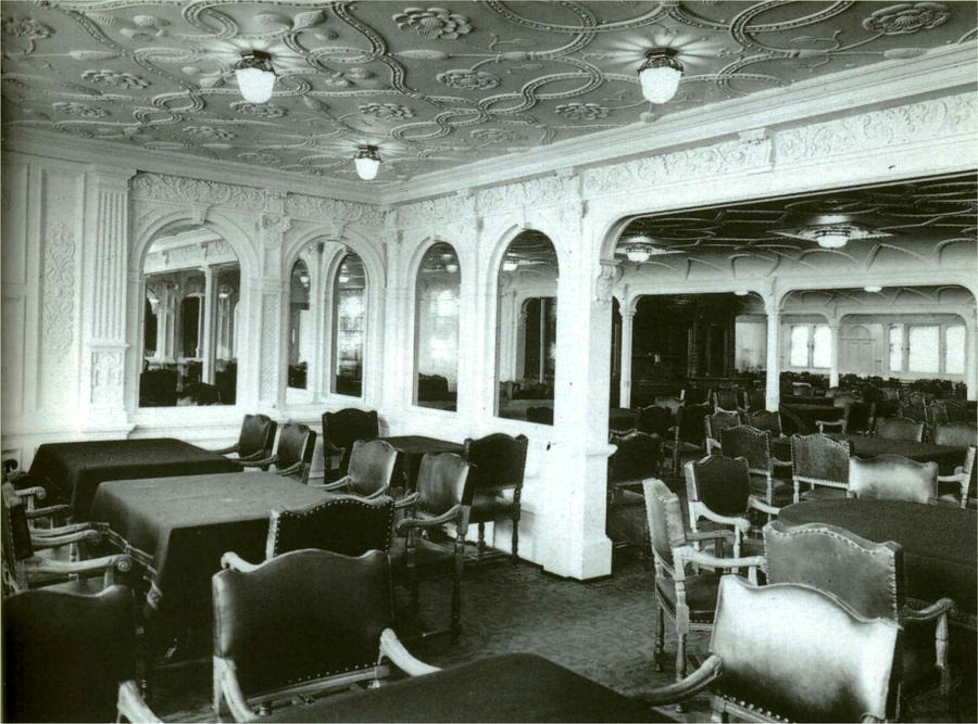 Titanic First Class Dining Room Picture