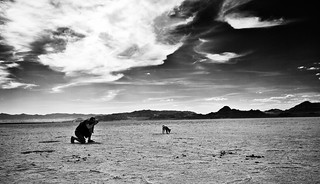 The Photographer and his Dog | by basselal