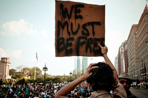 WE MUST BE FREE - NATO 2012 | by Ashley Osborn