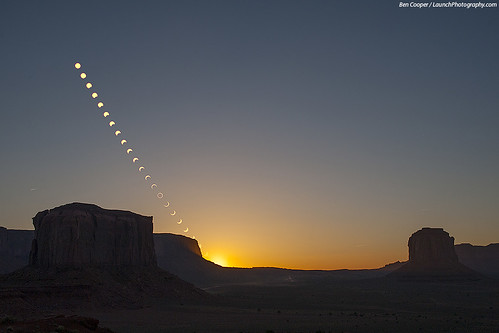 Ring of Fire over Monument Valley | by Ben_Cooper