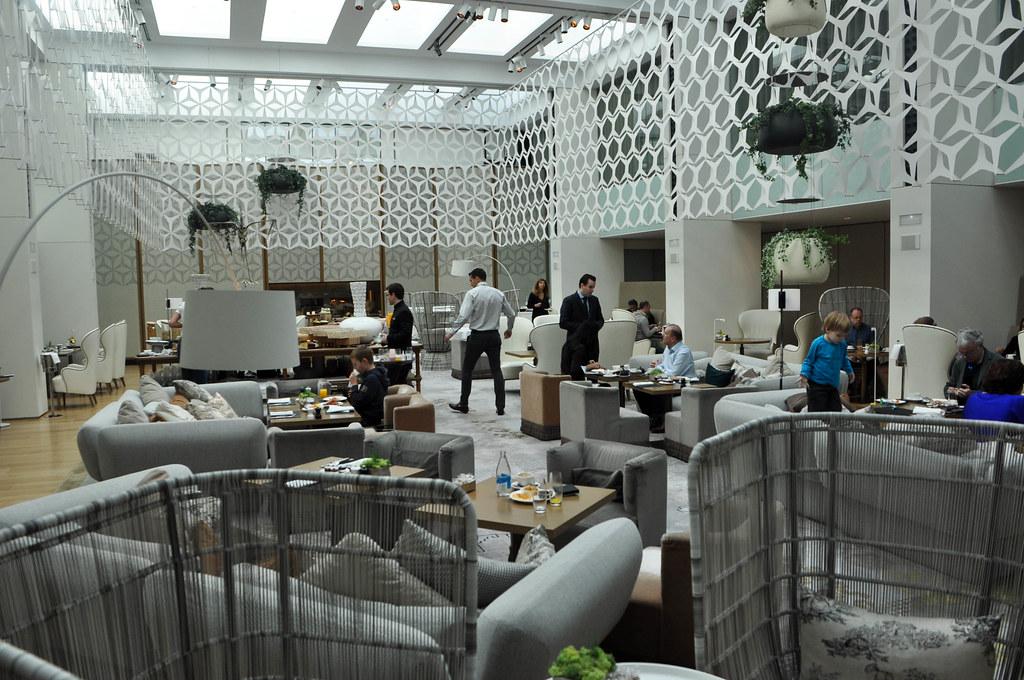 Hotel mandarin barcelona restaurante blanc desayunos for Hotel w barcelona restaurante