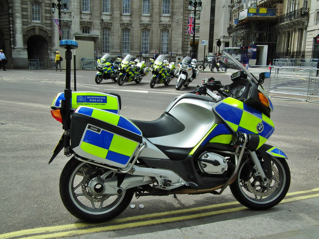 Bmw Police Motorcycle Hat