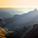 Grand canyon last light dusty day cape royal