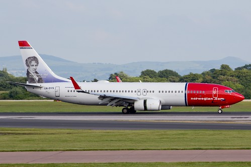 Norwegian Air Shuttle B737 LN-DYS | by Transport Pixels