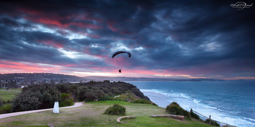 Sunset Paragliding | by Bruce_Hood