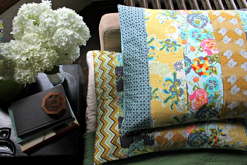 LillyBelle Quilted Pillow Shams! | by maureencracknell