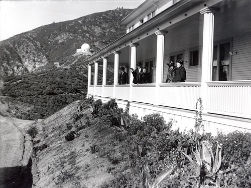 Echo Mountain House Circa 1890 This Photograph Depicts