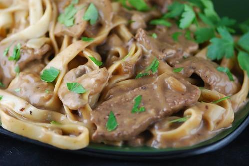 Beef Stroganoff | Lean Top Sirloin steak and mushrooms in ...