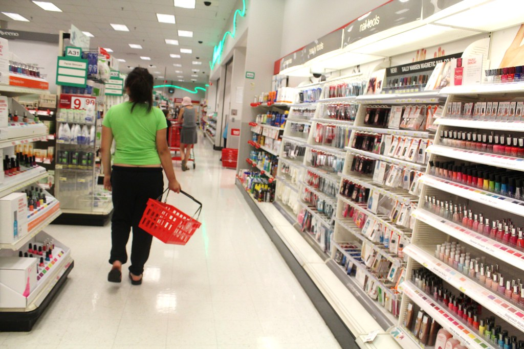 Target Beauty Aisle Beauty And Health Aisle of