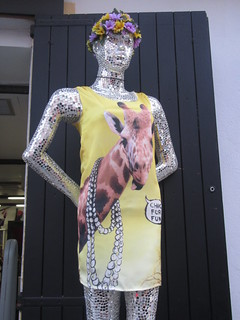 Sparkly Mannequin in Yellow | by Stimpdawg