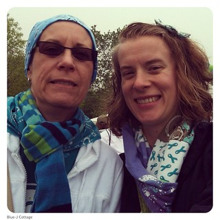 Mom and I at the NOCC walk in Chicago! | by Blue-J Cottage