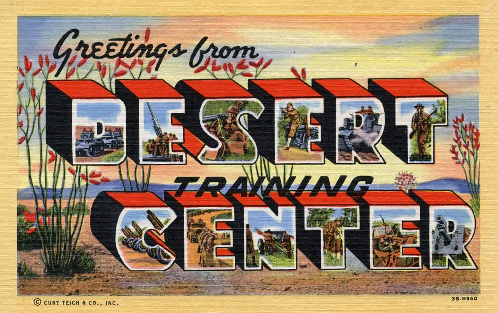 Greetings from desert training center california large flickr greetings from desert training center california large letter postcard by shook photos m4hsunfo