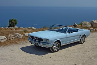 Mustang Convertible 1966 Arcadian Blue | by sisco73