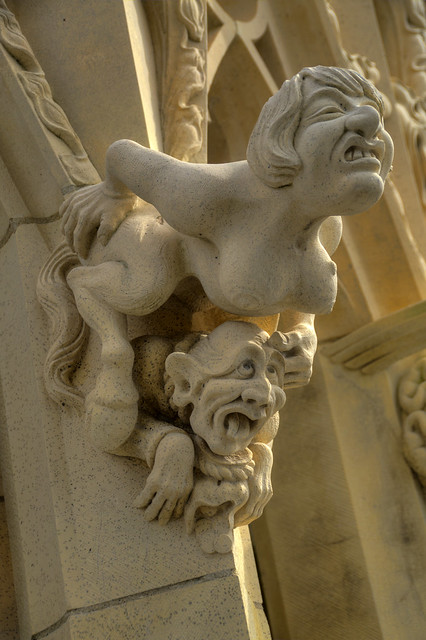 York Minster Visit Gargoyle Flickr Photo Sharing