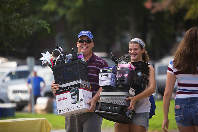 2016 Freshmen Move-In Day