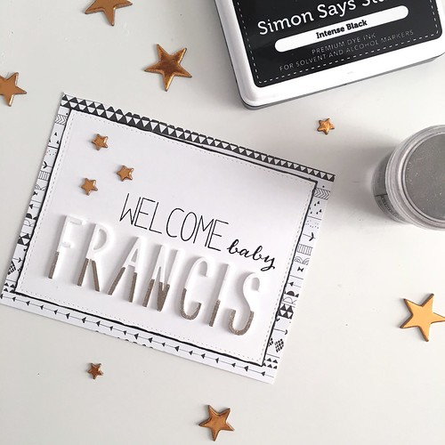 Welcome Baby Francis - Neat & Tangled Journaling Alphas